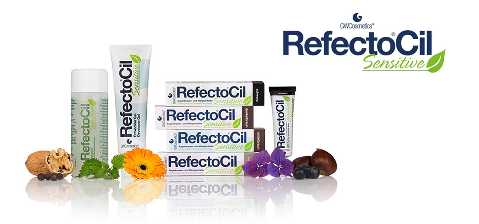 ...in the eyebrow and eyelash colouring market – RefectoCil Sensitive.